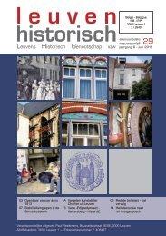 Jaargang 8 Nr.2 juni 2011 - Leuvens Historisch Genootschap