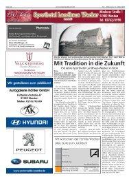 Mit Tradition in die Zukunft - Sporthotel Landhaus Wacker