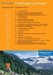 Nummer 44/2005 - SalzburgerLand Netoffice