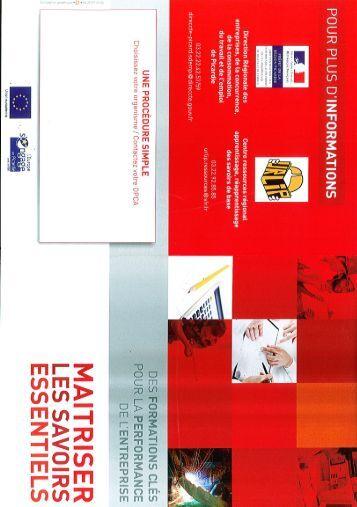 Plaquette de l'URLIP - AGEFOS PME Nord Picardie