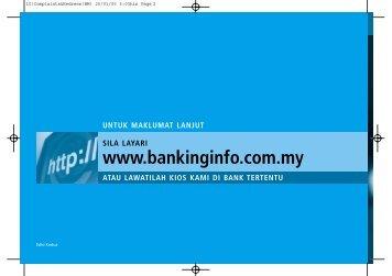 Membuat Aduan Perihal Perbankan - Banking Info