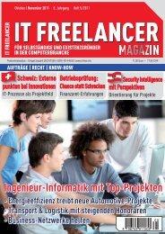 IT Freelancer Magazin Nr. 5/2011