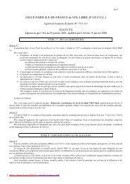FEDERATION FRANCAISE de VOL LIBRE - Ligue Paris Ile de ...