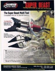 The Super Beast Multi Tool - R & R Fire Truck Repair, Inc.