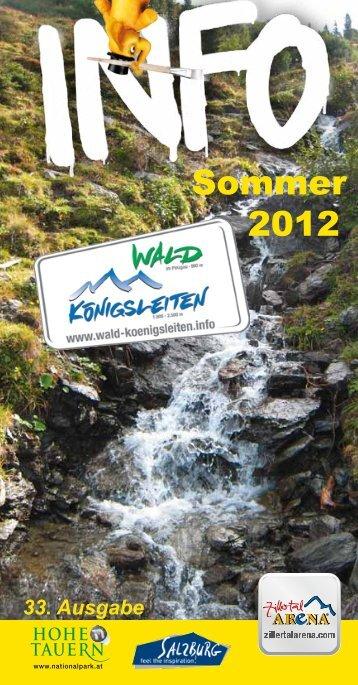 Sommer 2012 - Zillertal Arena
