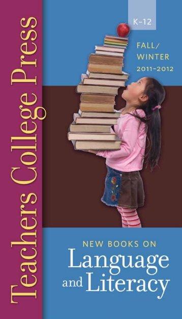 Teachers C ollege Press 800 .575.6566 • www .tcpress.com