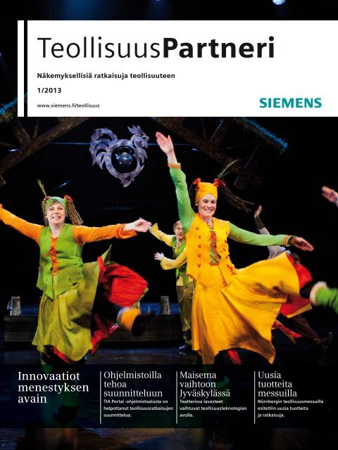 TeollisuusPartneri   1/2013 - Siemens
