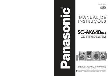 SC-AK640LB-S.pdf - Panasonic