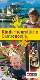 Kinderfreundliche Gastronomie - Bambini-On-Tour