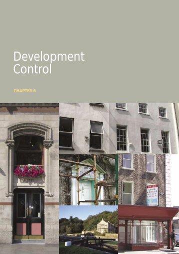 Chapter 6 Development Control
