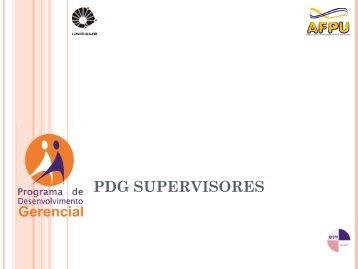 Slides do curso PDG Supervisores - Unicamp