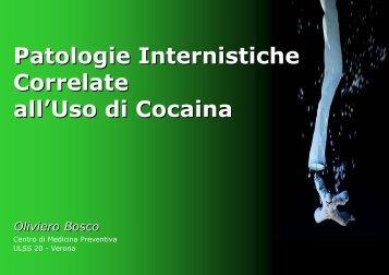 Patologie Internistiche Correlate all'Uso di Cocaina ... - Dronet