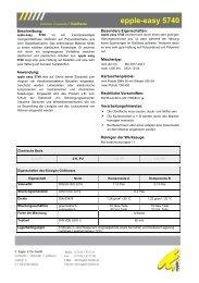 epple-easy 5740 - Epple-chemie.de