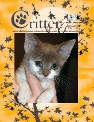 FREE – TAKE ONE - Critter Magazine