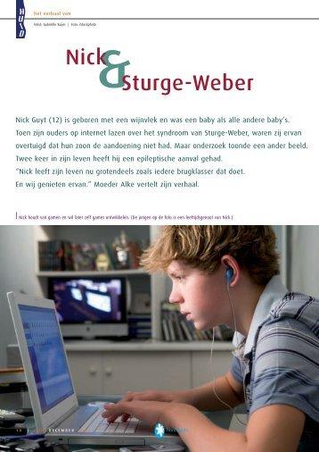Sturge-Weber - Huid Magazine