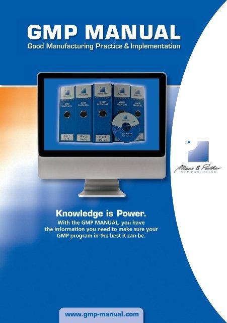 Gmp Manual Gmp Publishing
