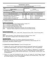 Curriculum Vitae - Department of Chemistry - San Jose State ...
