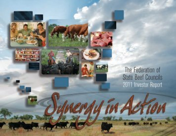 Federation AR.indd - National Cattlemen's Beef Association