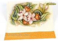 Pano de Copa Flores e Frutas - Estilotex