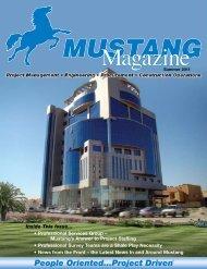 Summer 2011 - Mustang Engineering Inc.