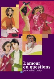 L'amour en questions - Inpes
