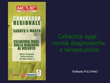 Celiachia oggi: novità diagnostiche e terapeutiche