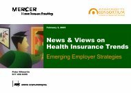 Health Insurance Trends: Emerging Employer Strategies