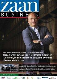 Jeroen Smit, auteur van 'Het Drama Ahold' en 'De ... - Zaanbusiness