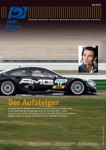 Newsletter 01/2013 - ADAC Stiftung Sport