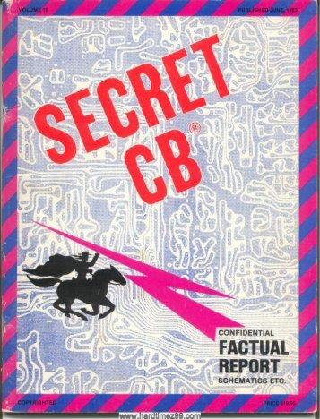 T-16/55 - cb radio secret
