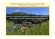 Resource assessment methods for sustainable ... - FloraWeb