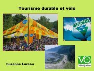 Présentation PowerPoint - Tourisme Québec