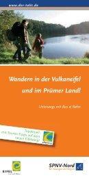 Wandern in der Vulkaneifel und im Prümer Land! - Rheinland-Pfalz ...
