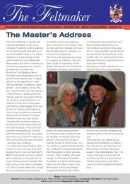 The Feltmaker - The Worshipful Company of Feltmakers of London
