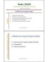 Tema 4. Capa de enlace