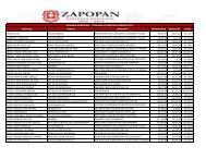 Listado de ingresos nominales 2da. quincena de febrero 2013