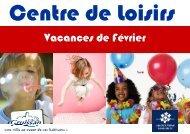 plaquette centre de loisirs vacances février 2012 - Gruissan