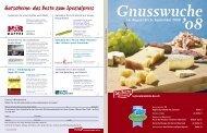 Gnusswuche - Das Beste der Region Berner Oberland