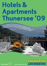 Leben und geniessen am Berner Oberland - Thunersee Tourismus