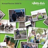 Annual Review 2009/10 - Whizz-Kidz