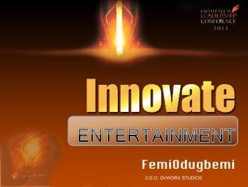 INNOVATION_IN_ENTERTAINMENT ... - Daystar
