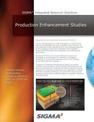 Production Enhancement Studies - Sigmacubed.com