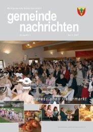 Gemeindenachrichten 2007-1 - Biedermannsdorf