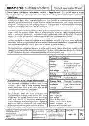 MBP 8192b - GL250-03L (EPS) Part L Loft Access Door Product ...