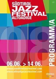 Programm/a - Südtirol Jazzfestival