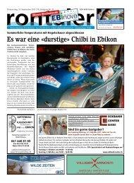 Chilbi in Ebikon - Regionalzeitung Rontaler AG