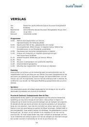 Verslag werkconferentie Zeeuws Duurzaam ... - Provincie Zeeland