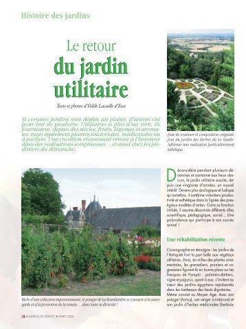 Pour lire la suite, TELECHARGEZ L'ARTICLE EN PDF - Jejardine.org