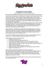 Info om ungdomsverksamheten på Musteriet och Ungdomens Hus i ...