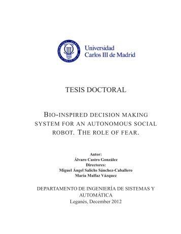 TESIS DOCTORAL - Robotics Lab - Universidad Carlos III de Madrid